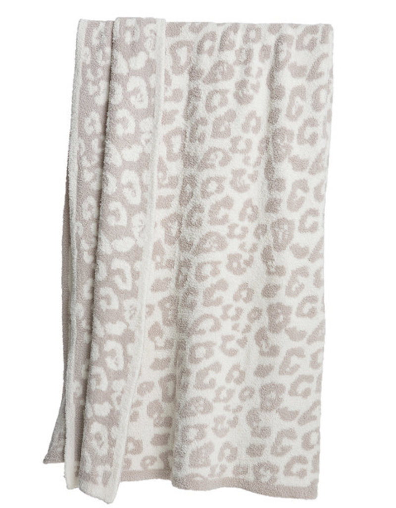Barefoot Dreams Cozy Chic Barefoot In the Wild Throw Blanket
