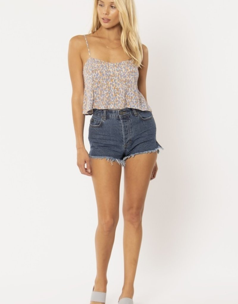 Amuse Society Blissed Out Woven Tank