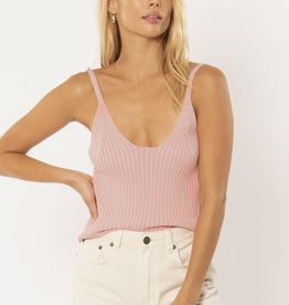 Amuse Society Marlowe Ribbed Sweater Tank