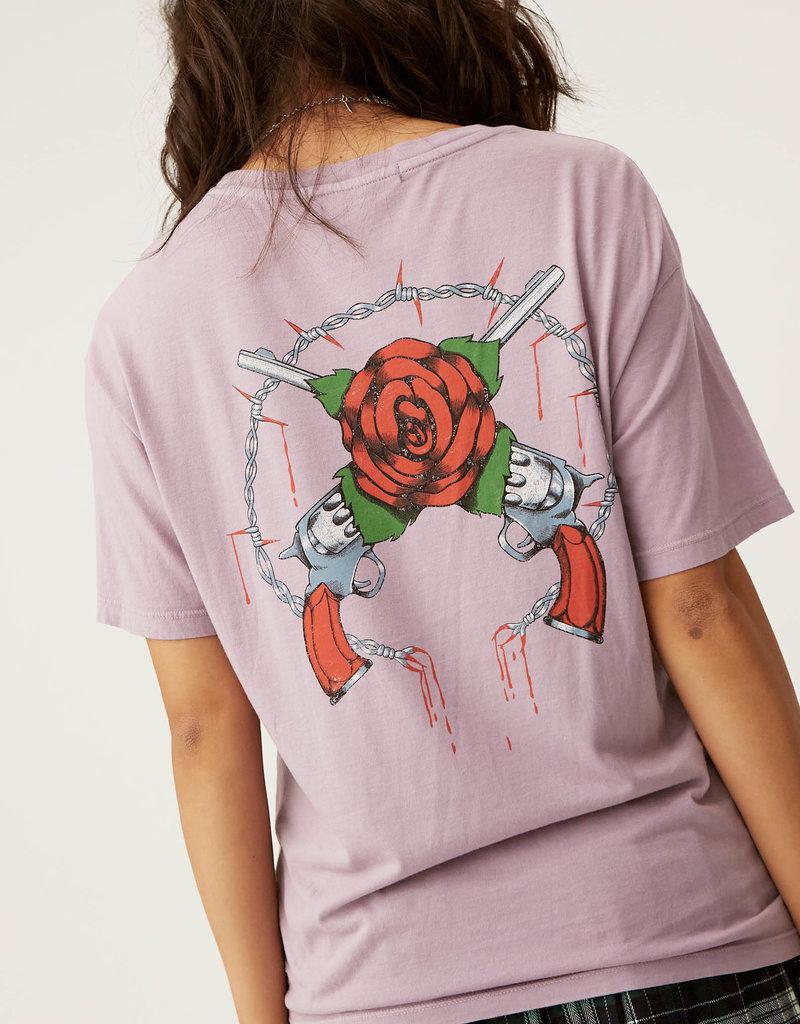 Daydreamer Guns N' Roses Samurai Boyfriend Tee