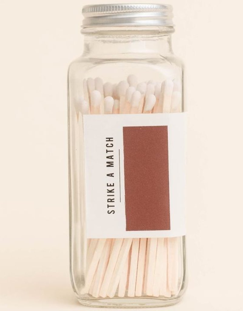 LABEL White Safety Matches