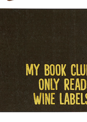 LABEL Bookclub Cocktail Napkins