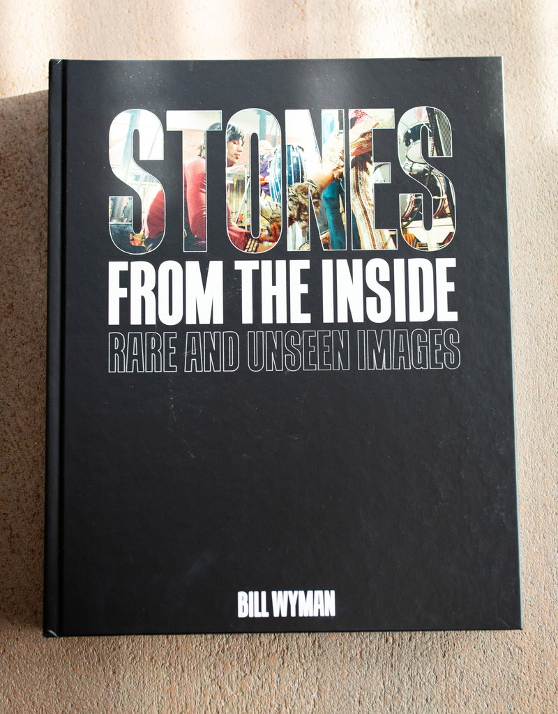 LABEL Stones From the Inside: Rare and Unseen Images Hardcover Book