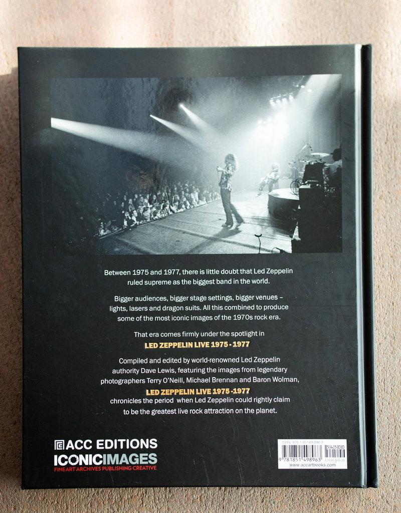 LABEL Led Zeppelin Live: 1975-1977 Hardcover Book