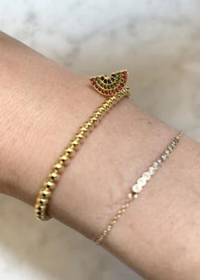 La Lumiere NY Rainbow Charm Bracelet