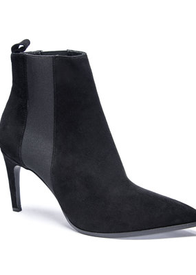 42 Gold Kensington Suede Bootie - Black