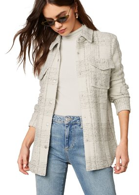 BB Dakota Work Hard Play Hard Knit Jacket
