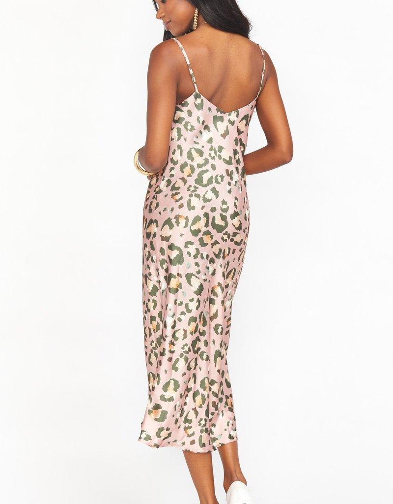 Show Me Your Mumu Zio Dress - Cheetah Sister Silky