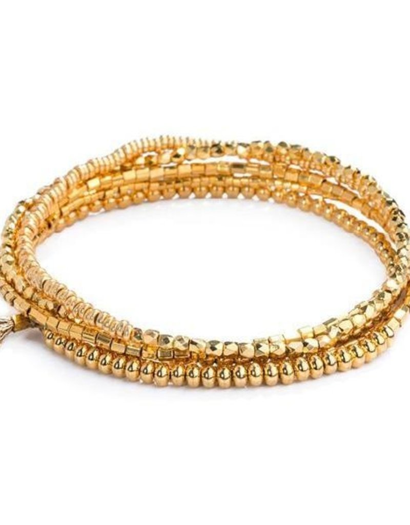 Shashi Jane Stretch Wrap Bracelet