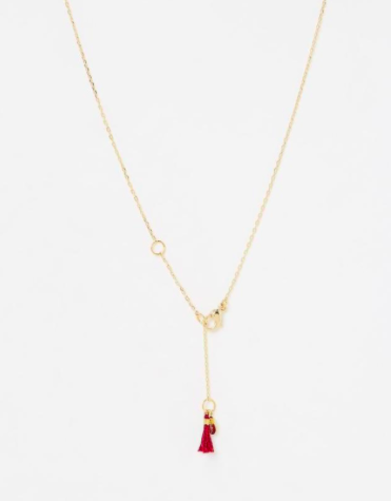 Shashi Evil Eye Pave Necklace