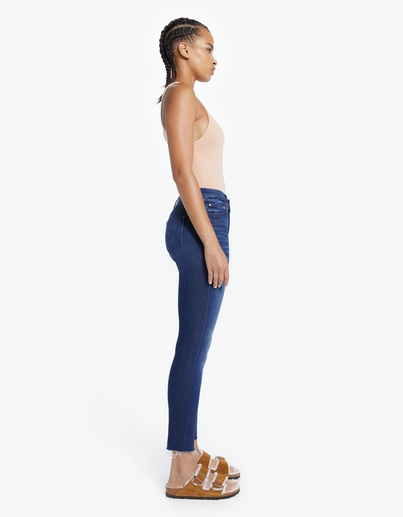 Mother High Waisted Looker Ankle Fray - Tongue in Chic