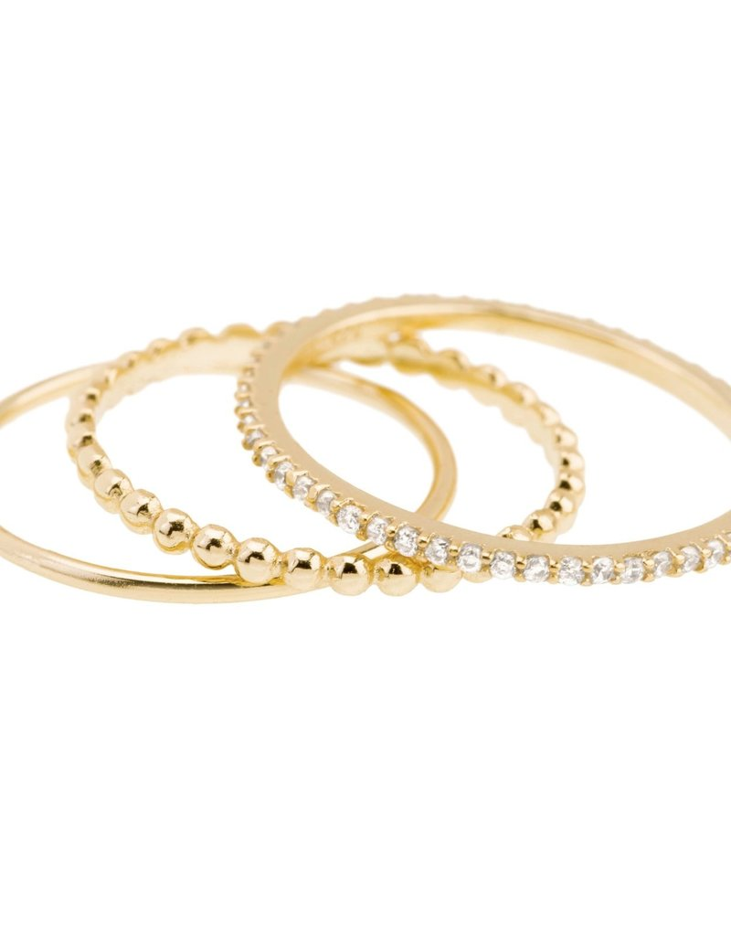 Shashi Aura Ring Set