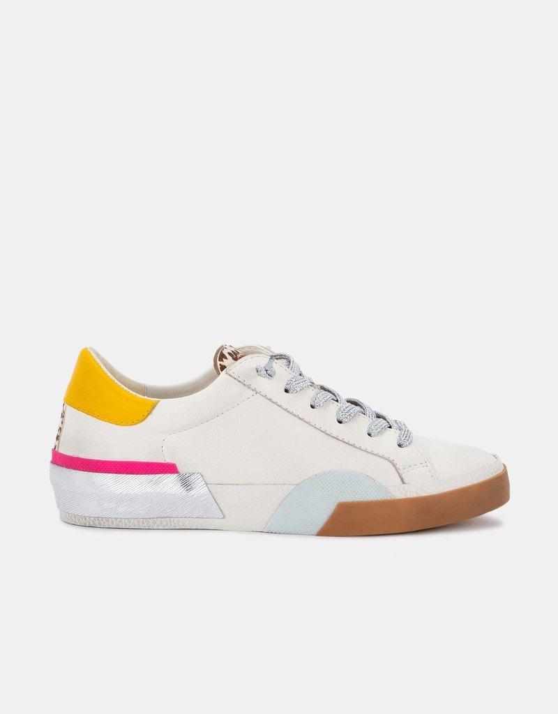 Dolce Vita Zina Sneakers - White Multi Leather