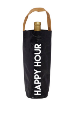 LABEL 'Happy Hour' Wine Bag