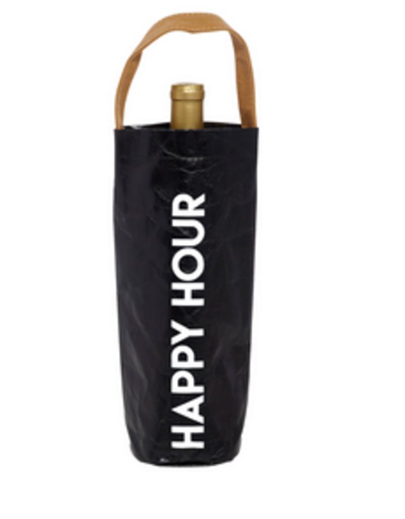 LABEL 'Happy Hour' Wine Bag