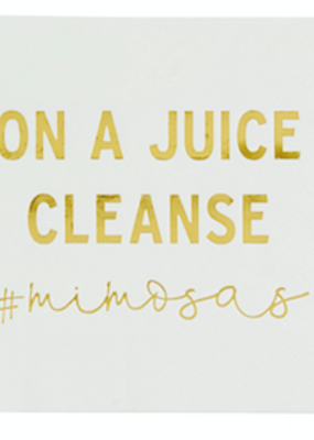 LABEL Juice Cleanse Cocktail Napkins