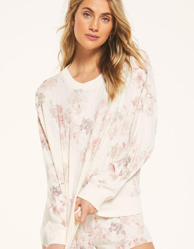 Z Supply Elle Floral Long Sleeve