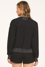 Z Supply Elle Marled Long Sleeve