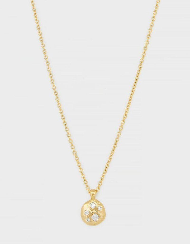Gorjana Collette Circle Adjustable Necklace