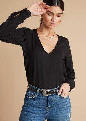 Bella Dahl Long Sleeve V-Neck Top