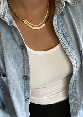 LABEL Monte Carlo Skinny Necklace