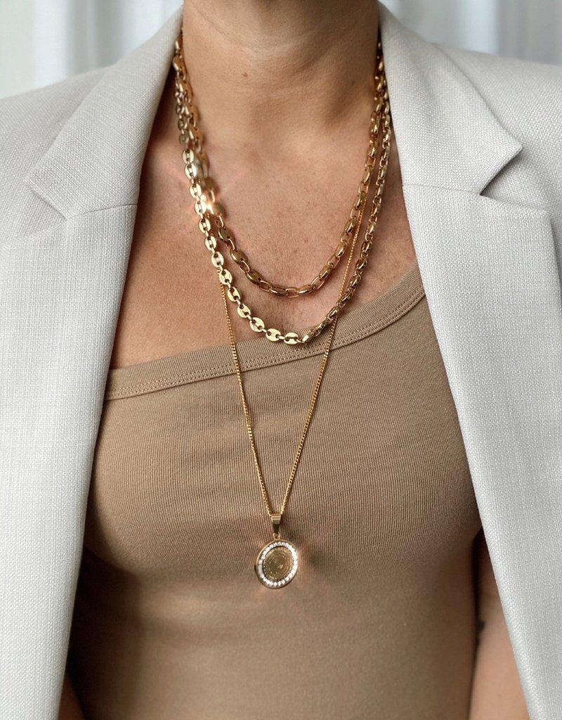 LABEL Ira Layered Necklace