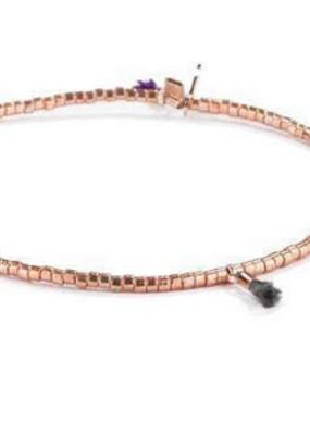Shashi Lilu Bracelet - Rose Gold