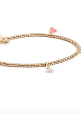 Shashi Lilu Bracelet - Gold