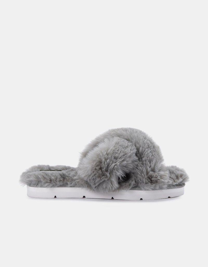 Dolce Vita Pillar Slippers - Grey