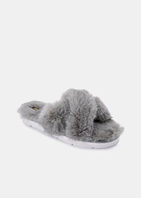 Dolce Vita Pillar Slippers - Grey