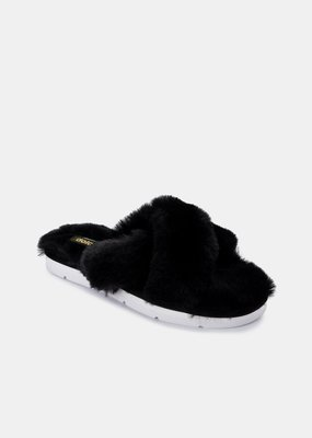 Dolce Vita Pillar Slippers - Black