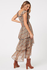 Minkpink Fleetwood Floral Chiffon Dress