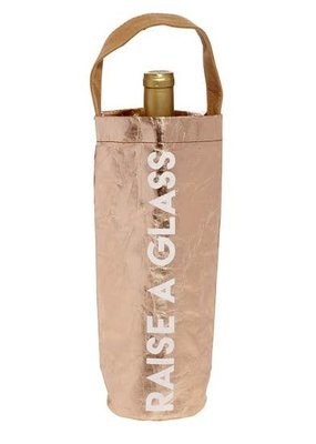 LABEL 'Raise a Glass' Wine Bag