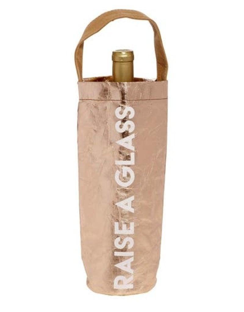 LABEL 'Raise a Glass' Wine Bag