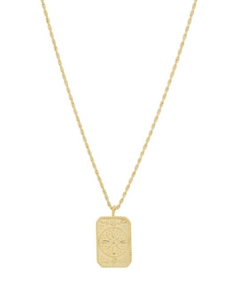 Gorjana Fiore Pendant Necklace
