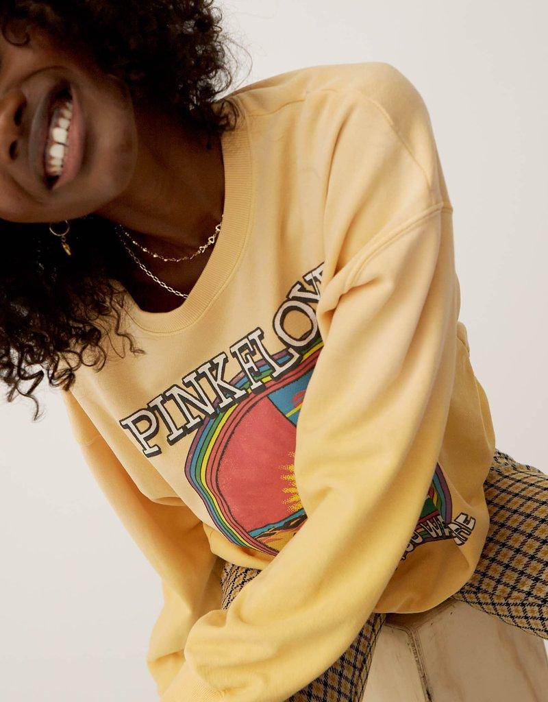 Daydreamer Pink Floyd Wish You Were Here Oversized Crew Sweatshirt