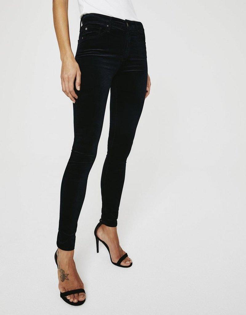 AG Jeans The Farrah Skinny - Velvet Super Black