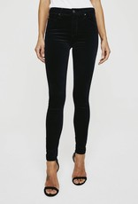 AG Jeans The Farrah Skinny - Velvet Super Black