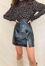Free People Holding Onto A Dream Coated Mini Skirt