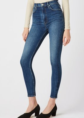 Hudson Centerfold Extreme High-Rise Super Skinny Jean - Enchanter