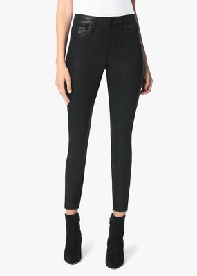 Joe's Jeans Charlie Ankle High Rise - Black Coated