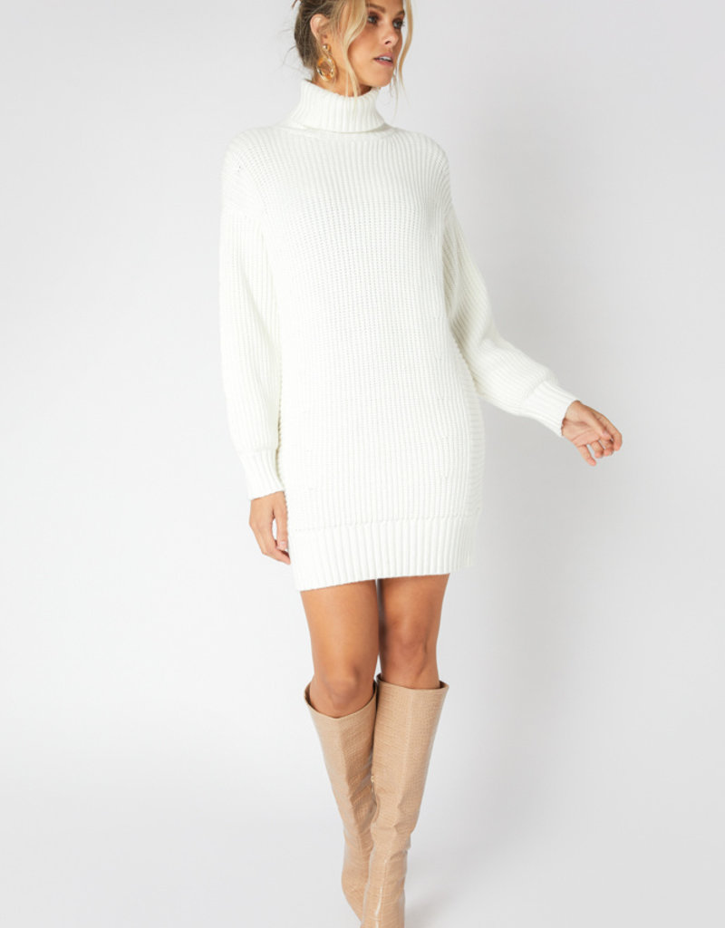 Minkpink Echoes Knit Dress