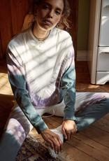 Daydreamer Tie Dye Long Sleeve In Dusty Rose