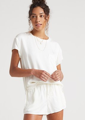 Bella Dahl Flowy Short - White