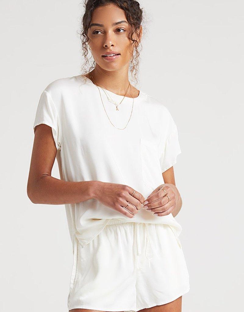 Bella Dahl Flowy Short - White