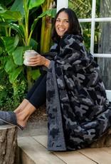 Barefoot Dreams CozyChic Camo Throw Blanket