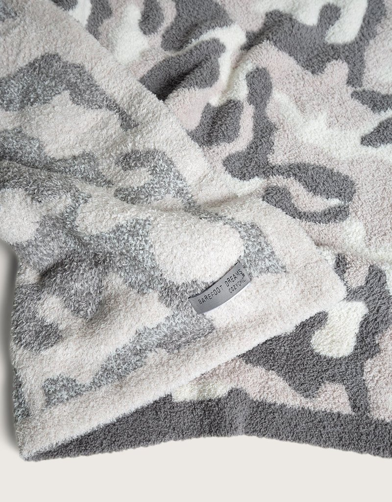 Barefoot Dreams CozyChic® Camo Throw
