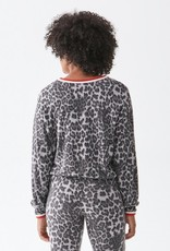 Michael Stars Tate Leopard Pullover
