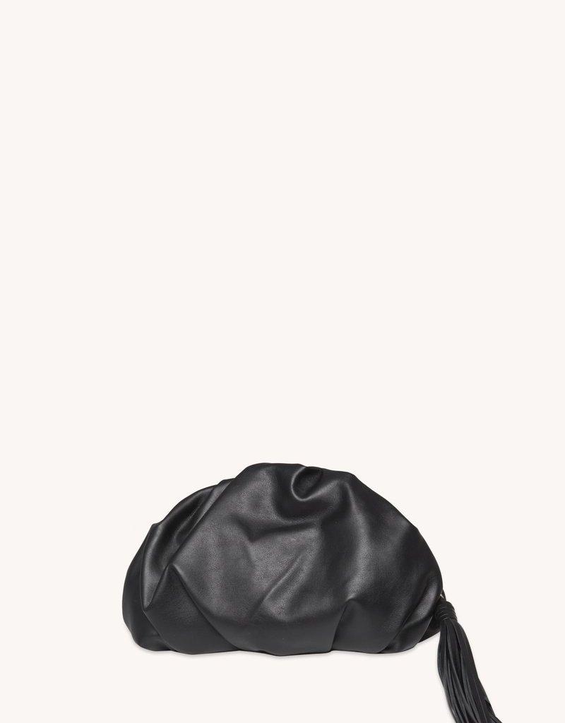 Rebecca Minkoff Ruched Clutch - Black