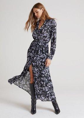 Bella Dahl Maxi Ruffle Hem Shirt Dress